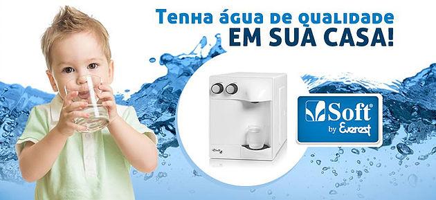 Filtro de Água Soft - Refil Purificador Soft BA